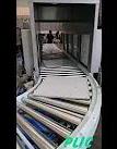 ระบบลำเลียงแบบลูกโรลเลอร์แบบเข้าโค้ง Curve roller conveyor