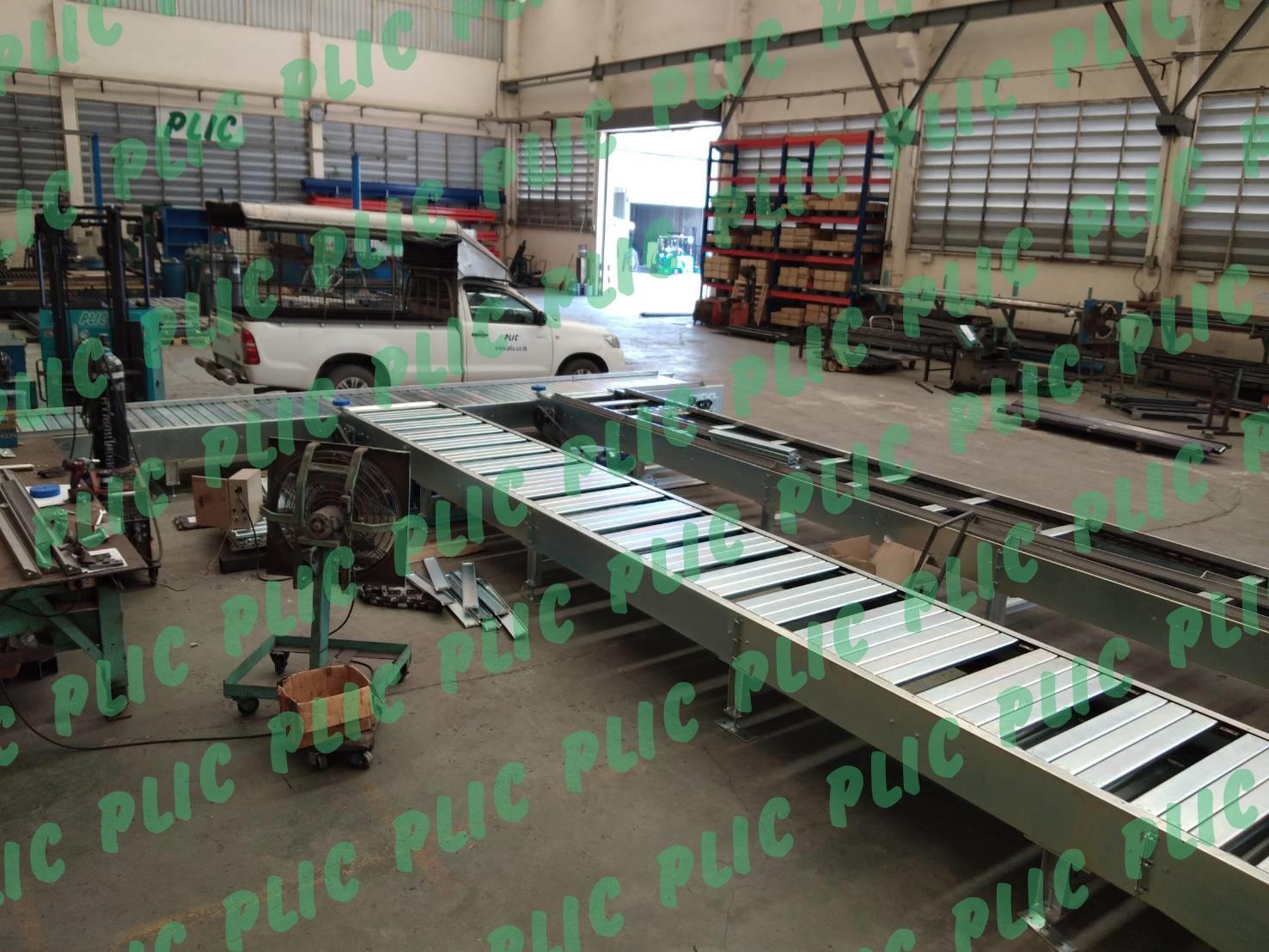 Slat conveyor สายพานลำเลียง