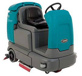 T12 Compact Battery-Powered Rider Scrubber-dryer