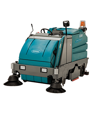 8300 Battery-Powered Ride-on Sweeper-Scrubber