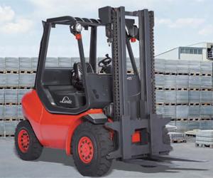 Engine Forklift Linde Diesel Forklift Truck (352 Series)