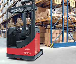 Battery Forklift Linde Electric Sit-on Reach Truck (115 Series)