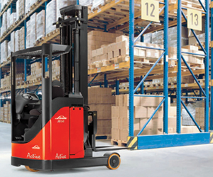 Battery Forklift Linde Electric Reach Truck (115-03)