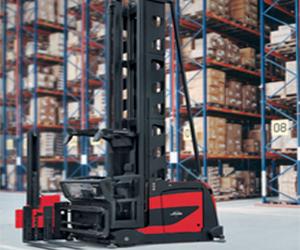 Battery Forklift Linde Modular very narrow aisle (VNA) dual purpose combi truck (011 Series)