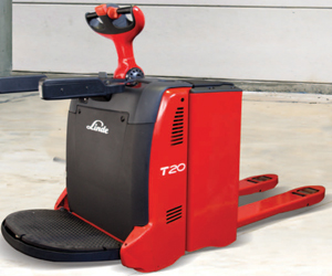 Electric Pallet Truck Linde Stand-On Electric Pallet Truck (1158)