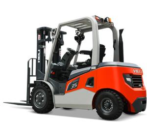 G3 series 3-3.5t diesel/LPG counterbalanced forklift