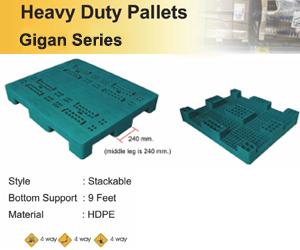 Heavy Duty Pallets Gigan Series