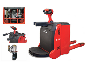 Linde Stand-On Electric Pallet Truck(1158)