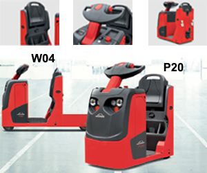 Towing Truck Linde P20 W04