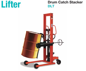 Lifter Drum Catch Stacker