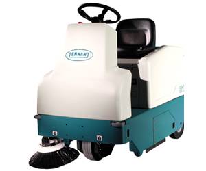 6100 Sub-Compact Rider Sweeper