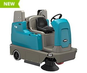 S16 Battery-Powered Compact Ride-On Sweeper
