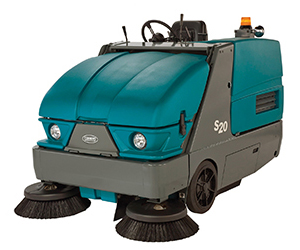 S20 Compact Mid-sized Rider Sweeper