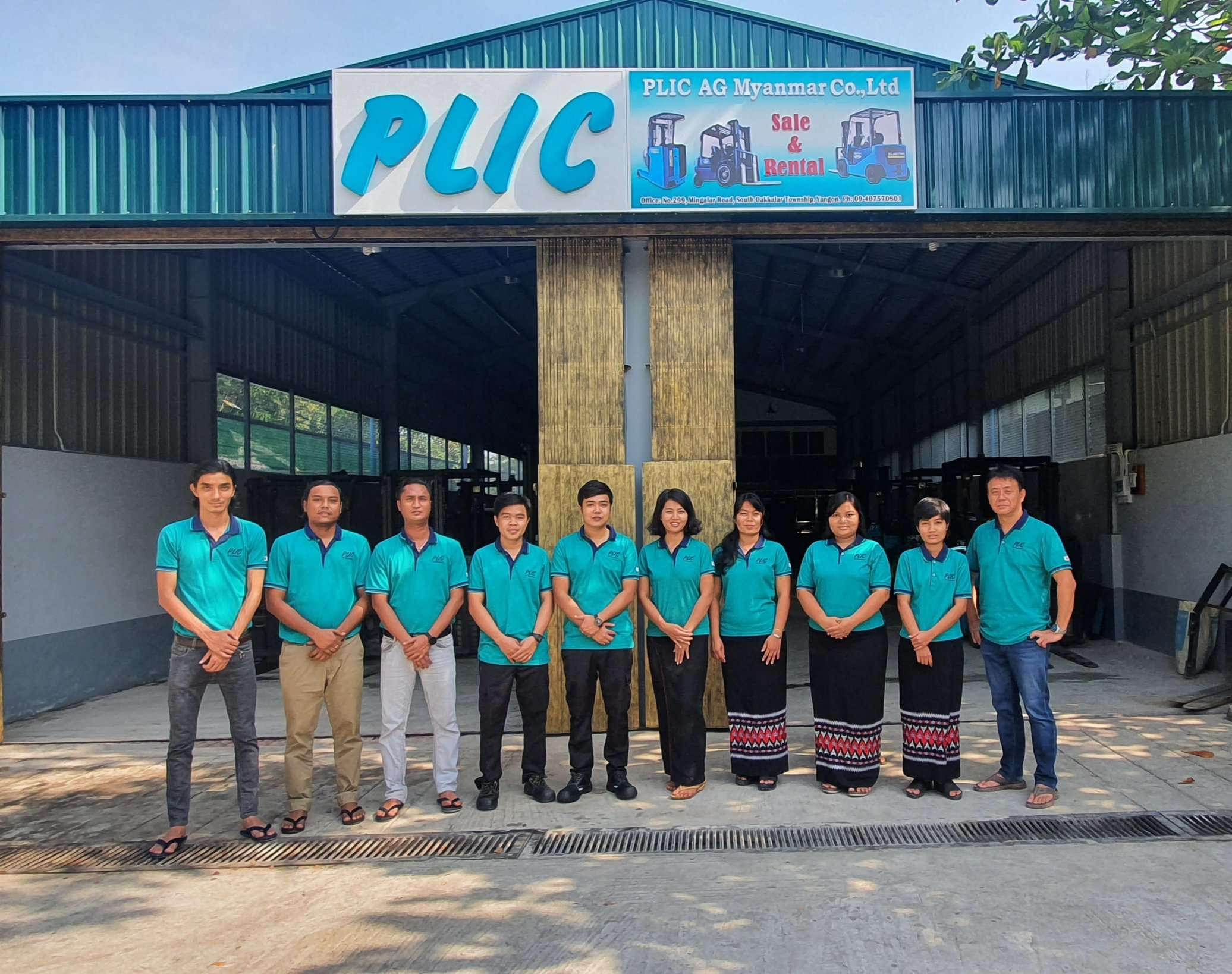OUR STAFF IN PLIC AG MYANMAR